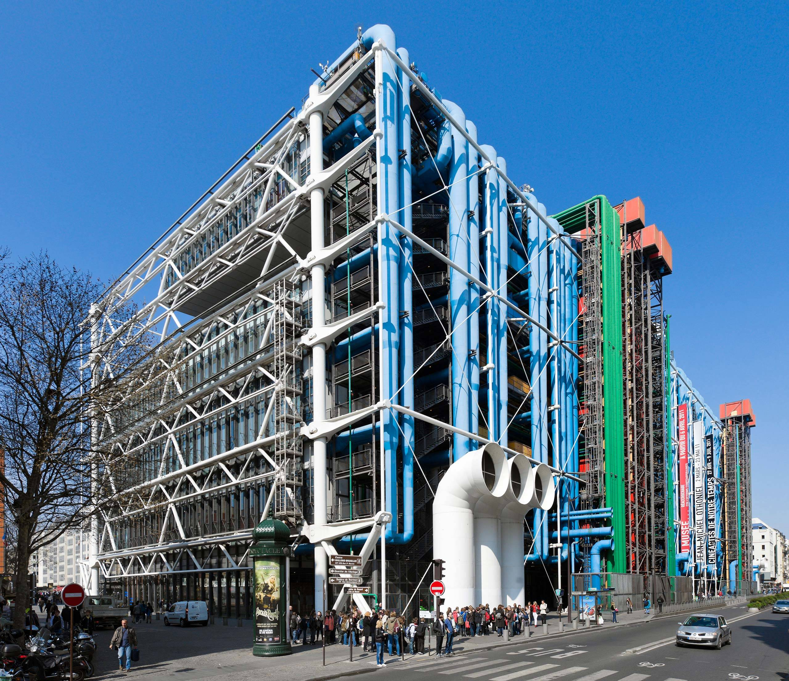le centre pompidou paris