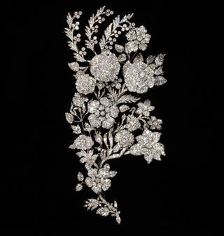 Photo of Spray ornament, maker unknown, about 1850. Museum no. M.115-1951. © Victoria and Albert Museum, London