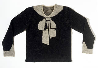 Photo of Jumper, Elsa Schiaparelli, 1927, France. Museum no. T.388-1974. © Victoria and Albert Museum, London
