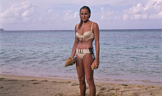 Ursula Andress as Honey Ryder in Dr. No, Directed by Terence Young, 1962