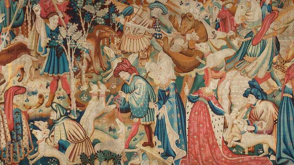 V A The Devonshire Hunting Tapestries