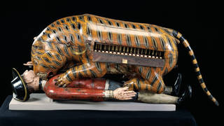 'Tipu's Tiger', 1780s or 1790s, Mysore, India. Museum no 2545 (IS). © Victoria and Albert Museum, London