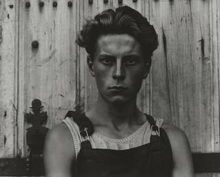 Photo of Young Boy, photograph by Paul Strand, 1951, Gondeville, Charente, France. © Paul Strand Archive, Aperture Foundation