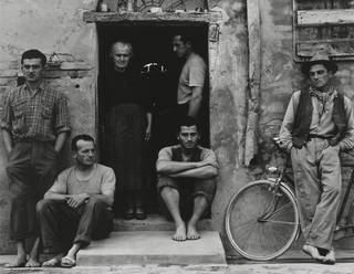 Photo of The Family, photograph by Paul Strand, 1953, Luzzara (The Lusettis).  © Paul Strand Archive, Aperture Foundation