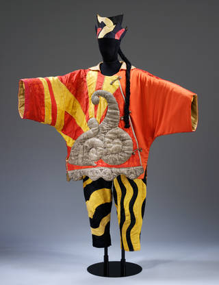 Costume for the Chinese Conjuror from Parade, designed by Pablo Picasso, 1917. Museum no. S.84&A-1985, © Victoria & Albert Museum, London