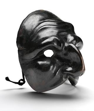 Photo of Mask for Pulcinella, probably 1700 – 25, Italy. Museum no. W.60-1929. © Victoria and Albert Museum, London