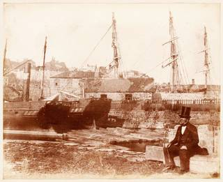 Harbour Scene, photograph by Calvert Richard Jones, about 1845. Museum no. PH.50-1983. © Victoria and Albert Museum, London