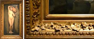 (Left) La Source, Jean-Auguste-Dominique Ingres, Paul Balze and Alexandre Desgoffe, 1820-1856. © Musée du Louvre, on loan to musée d'Orsay, Paris. (Right) La Source, Jean-Auguste-Dominique Ingres, Paul Balze and Alexandre Desgoffe, 1820-1856. © Musée du Louvre, on loan to musée d'Orsay, Paris