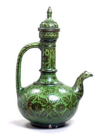Photo of Ewer, about 1880, Bombay, India. Museum no. IS.2862-1883. © Victoria and Albert Museum, London
