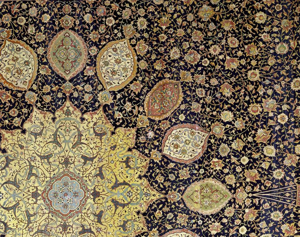 V Amp A 183 The Ardabil Carpet