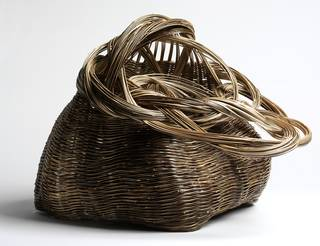 Photo of 'AUN II, Basket', Tanabe Shochiku, 2014, Japan. Museum no. FE.36-2014. © Victoria and Albert Museum, London