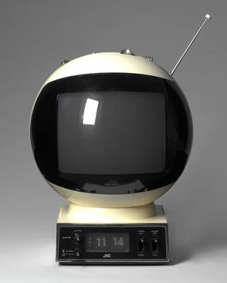Photo of 'JVC Videosphere', JVC Ltd, about 1970, Japan. Museum no. W.661:1-2001. © Victoria and Albert Museum, London