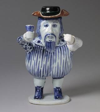 'Mr Nobody' (figure), unknown, late 17th century, China. Museum no. C.7-1951. © Victoria and Albert Museum, London