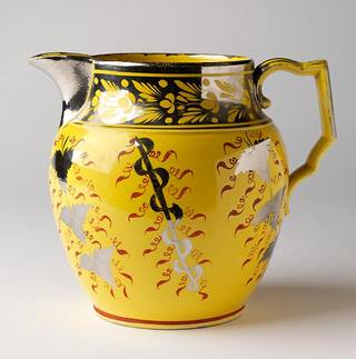 Jug, unknown, about 1810-1820, Staffordshire, England. Museum no. C.16-1942. © Victoria and Albert Museum, London