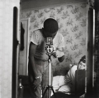 'Self-portrait in Mirror', Armet Francis, 1964. Museum no. E.103-2013. © Armet Francis