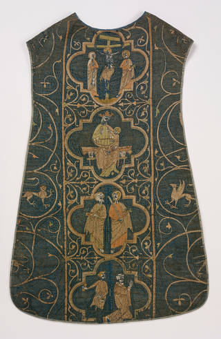 The Clare Chasuble, 1272-1294, England. Museum no. 673-1864. © Victoria and Albert Museum, London
