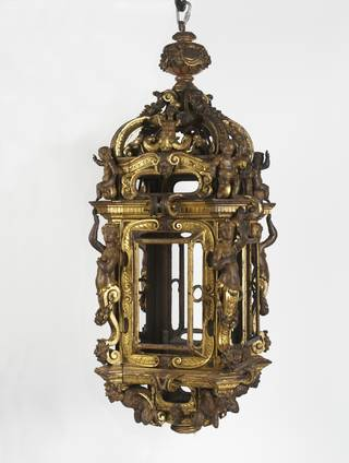 Photo of Lantern, unknown, 1570-1600, Italy. Museum no. 7225-1860. © Victoria and Albert Museum, London