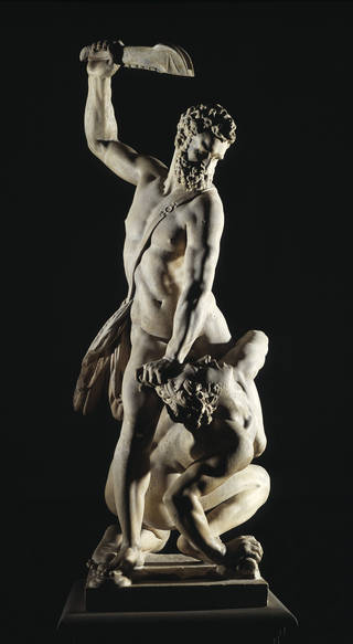 Photo of Samson Slaying a Philistine, Giambologna, 1560-1562, Italy. Museum no. A.7-1954. © Victoria and Albert Museum, London