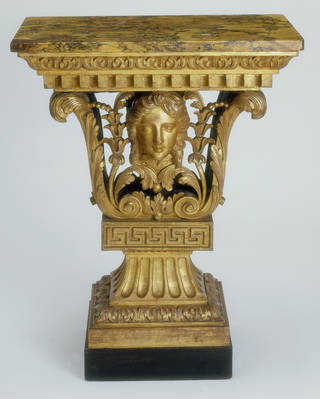 Photo of Console Table, designed by William Kent and probably made by John Boson, about 1730, England. Museum no. W.14-1971. © Victoria and Albert Museum, London
