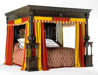 Photo of The Great Bed of Ware, 1590 – 1600, England. Museum no. W.47-1931. © Victoria and Albert Museum, London