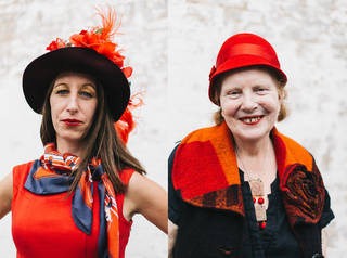 (Left to right) Helena Walsh and Anne Rossiter. © Vicky Grout