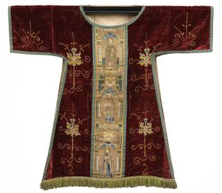 Dalmatic, 1490, England. Museum no. T.49-1924. © Victoria and Albert Museum, London