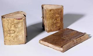 The Three Volumes of Codex Forster, Leonardo da Vinci, late 15th – early 16th century, Italy. Museum no. MSL/1876/Forster/141. © Victoria and Albert Museum, London