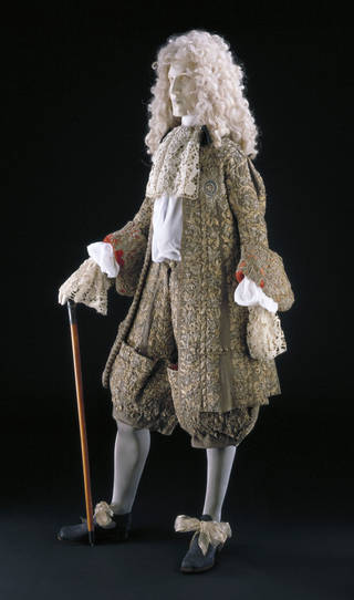 James II marriage suit, 1673, England. Museum no. T.711-1995. © Victoria and Albert Museum, London