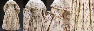 Wedding dress (details), 1841, England. Museum no. T.27-2006. © Victoria & Albert Museum, London