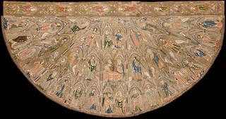 The Toledo Cope, 1320 – 30, England. © Toledo, Tesoro de la Catedral, Museo de Tapices y Textiles de la Catedral