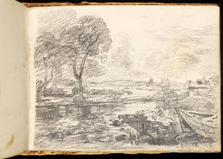 Sketchbook (detail), John Constable, 1814, Britain. Museum no. 1259-1888. © Victoria and Albert Museum, London
