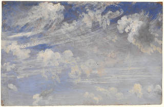 Study of Cirrus Clouds, oil painting, John Constable, 1822, Britain. Museum no. 784-1888. © Victoria and Albert Museum, London