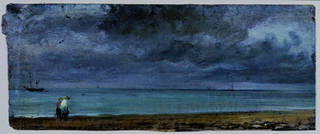 Photo of Brighton Beach, John Constable, 1824, England. Museum no. 783-1888. © Victoria and Albert Museum, London