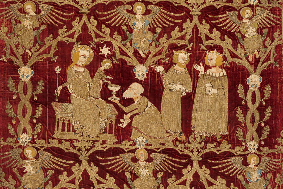 V Amp A 183 The Christmas Story In Opus Anglicanum