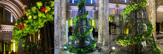 V&A Christmas Tree, by StudioXAG, 2016. © Victoria & Albert Museum, London