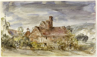 V Amp A 183 Constable S Watercolour Sketches