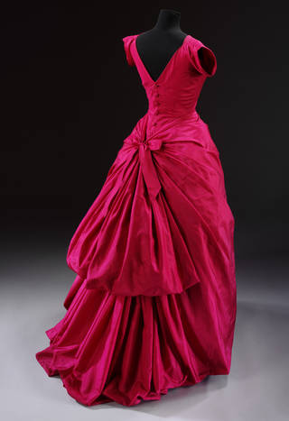 Silk taffeta evening dress 2560