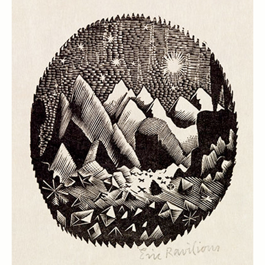 Print: An Explorer by Eric Ravilious