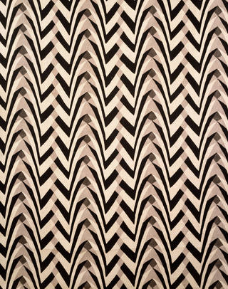 Photo of Furnishing fabric, designed by Gregory Brown, made by William Foxton Ltd, 1922, England. Museum no. T.325-1934. © Victoria and Albert Museum, London