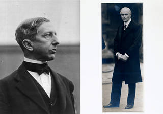 Eric Maclagan (left), about 1920, England. Sir Cecil Harcourt-Smith (right), early 20th century, England. © Victoria and Albert Museum, London