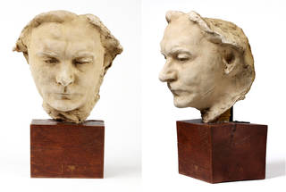 Dante, mask, Auguste Rodin, about 1908, France. Museum no. A.50-1914. © Victoria and Albert Museum, London