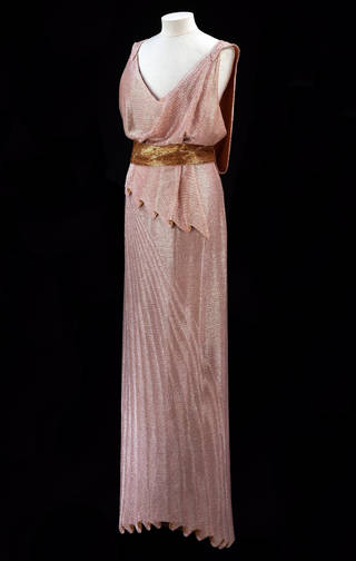 Evening dress, Jean Patou, 1932 – 34, France. Museum no. T.336&A-1974. © Victoria and Albert Museum, London