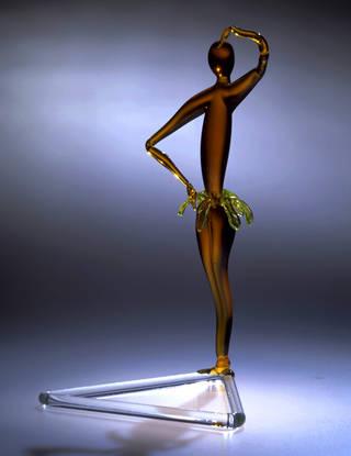 Josephine Baker, figure, Fritz Lampl, about 1925, England. Museum no. C.22-1995. © Victoria and Albert Museum, London