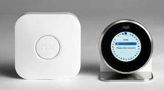 Photo of Thermostat, Nest Labs, 2014, US. Museum no. CD.36:1 to 10-2014. © Victoria and Albert Museum, London