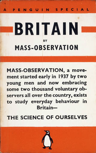 Photo of Britain by Mass Observation, book, written by Charles Madge & Tom Harrisson, published by Penguin Books, 1939, UK. Museum no. CT137830. © Victoria and Albert Museum, London