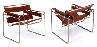 Club chair model B3, armchair, designed by Marcel Breuer, manufactured by Standard-Möbel, 1925 – 26, Germany. Museum no. W.2-2005. © Victoria and Albert Museum, London