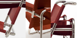 Club chair model B3, armchair, designed by Marcel Breuer, manufactured by Standard-Möbel (details), 1925 – 26, Germany. Museum no. W.2-2005. © Victoria and Albert Museum, London