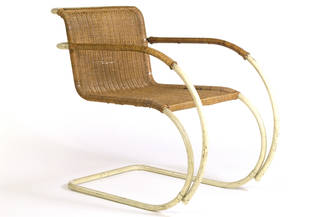MR20, armchair, designed by Ludwig Mies van der Rohe, manufactured by Thonet, 1927, Germany. Museum no. CIRC.861-1968. © Victoria and Albert Museum, London