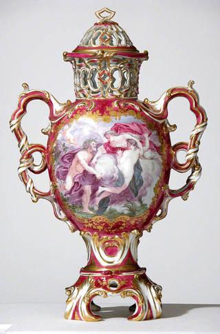 Va Garnitures Vase Sets From National Trust Houses Descriptive