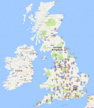 National activity map